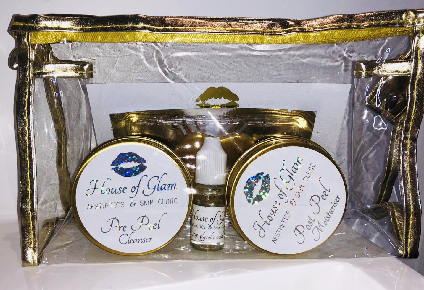 house of glam gold kits