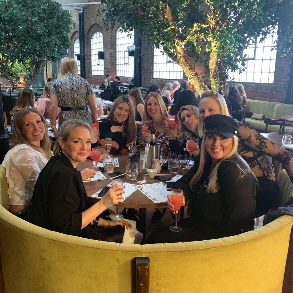 Ladies that Brunch at Restaurant Ours