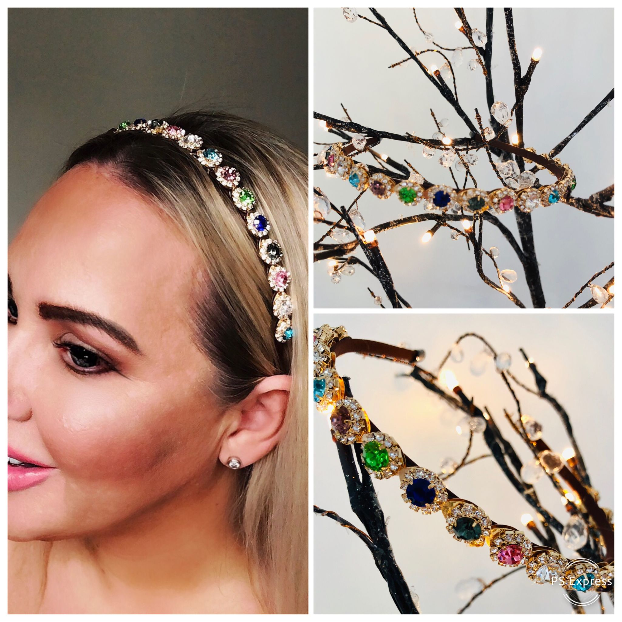 Embellished Headbands DISCO DIVA