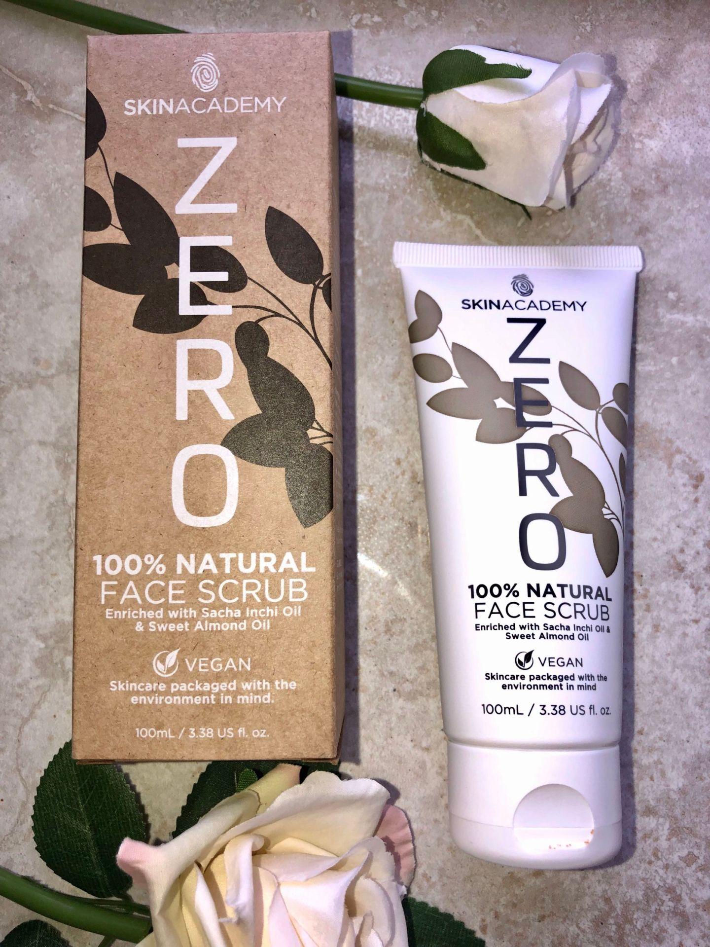 Skin Academy ZERO Skincare Review - FACE SCRUB