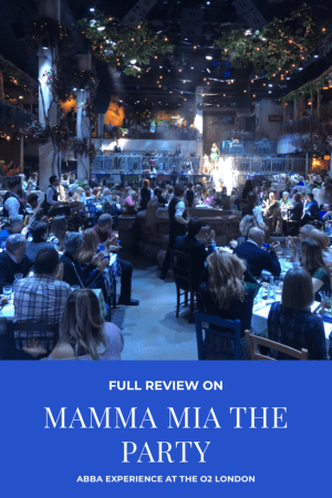 Information about Mamma Mia The Party Review.