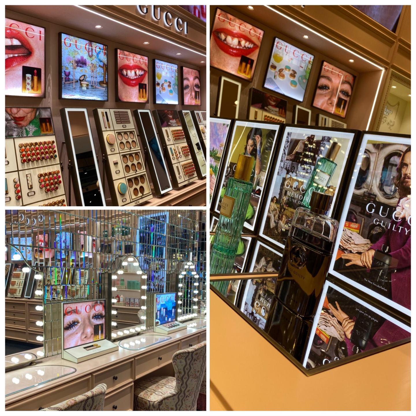 H Beauty Comes To Intu Lakeside - gucci section