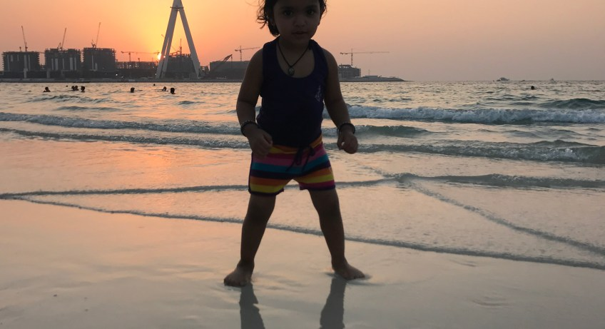 Fun at the JBR Beach