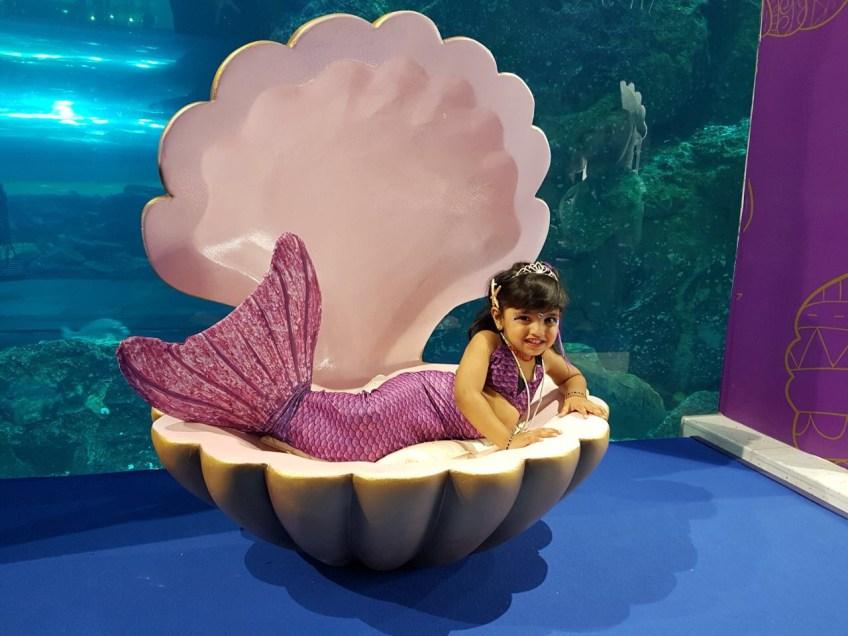 The cutest mermaid ever!