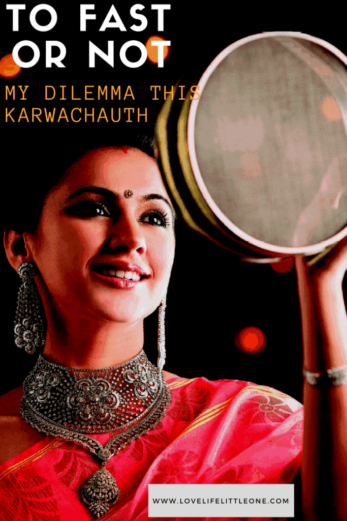 Karwachauth Fasting Indian blog