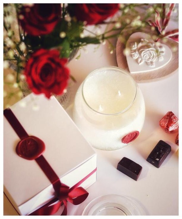 Love candles essential oil candles
