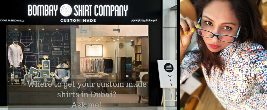Get your custom made shirt in Dubai