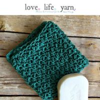 Simple Textured Washcloth - Free Crochet Pattern