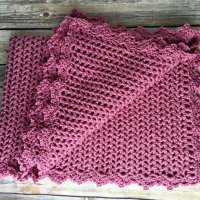 Pretty in Pink Heirloom Baby Blanket - Free Crochet Pattern