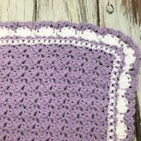 Lilac Meadows Baby Blanket - Free Crochet Pattern