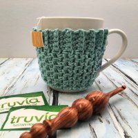 Quick and Easy Mug Cozy - Free Crochet Pattern