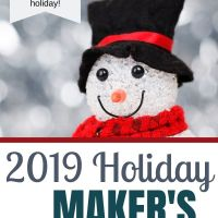 Join the 2019  Holiday Maker's Challenge!