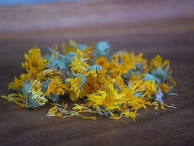 Dried calendula is the perfect herb to dry, use in herbal collections, and use in dried herb medicinal remedies.