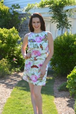 Butterfly Garden, Catalina Dress