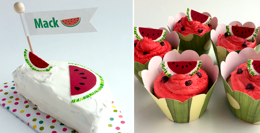 Kids Birthday Smash Cake Watermelon Themed Party Lovelivedesign