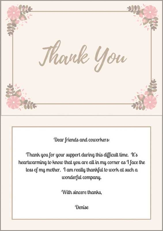 20 Ways to Say 'Thank You for Your Condolences' on