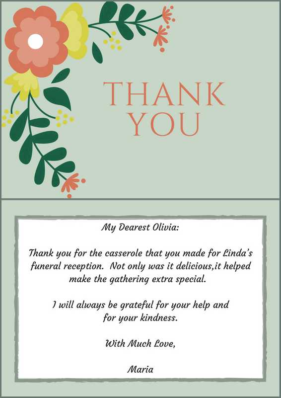 Sympathy Thank You Quotes : sympathy, thank, quotes, Funeral, Thank, Cards, Lives
