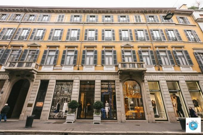 Quadrilatère de la mode Milan Blog voyage LoveLiveTravel