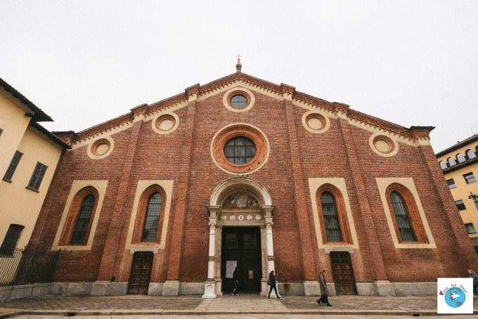 Santa Maria delle Grazie Milan Blog voyage LoveLiveTravel