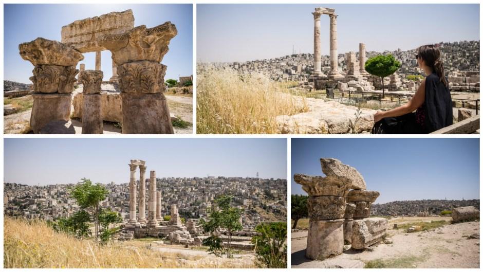 Jordanie roadtrip Amman citadelle temple hercules blog voyage Lovelivetravel