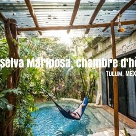 La Selva Mariposa, une Chambre d'hôte au cœur de la jungle de Tulum