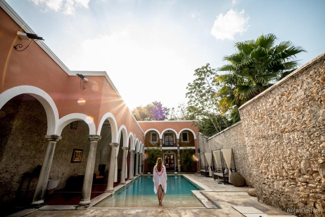 hotel hacienda mérida yucatan mexique blog voyage lovelivetravel