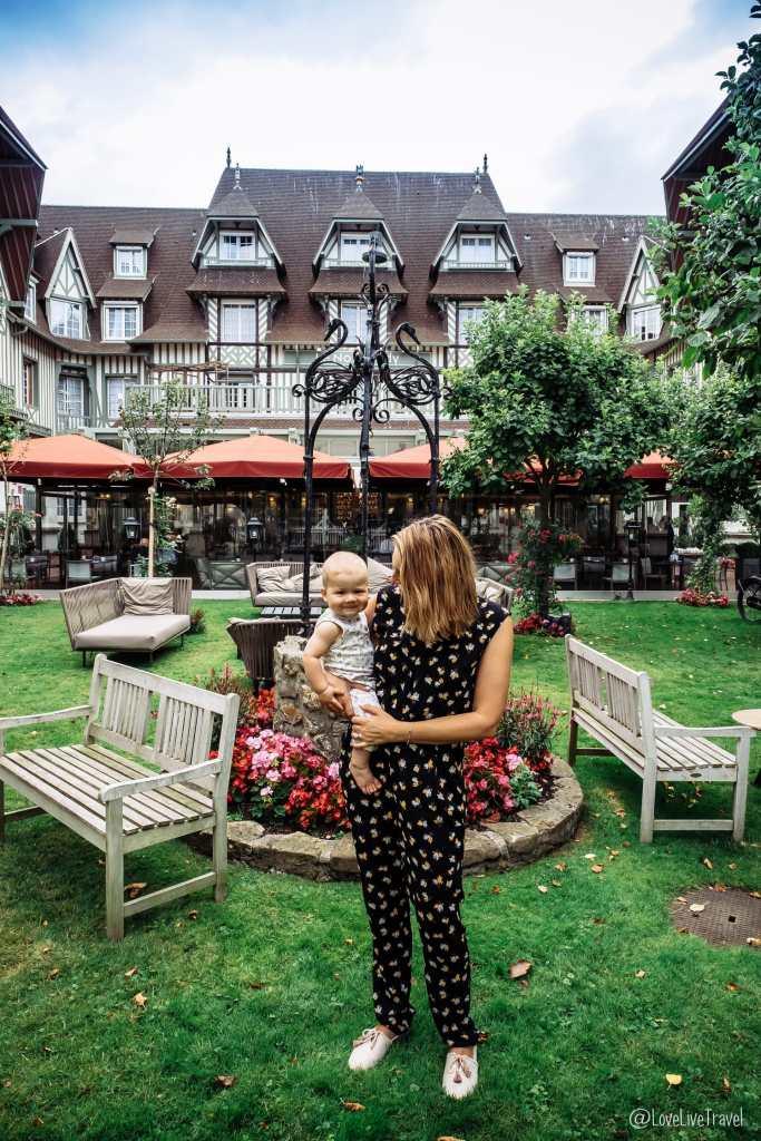 Hôtel Barrière Le Normandy à Deauville blog voyage lovelivetravel