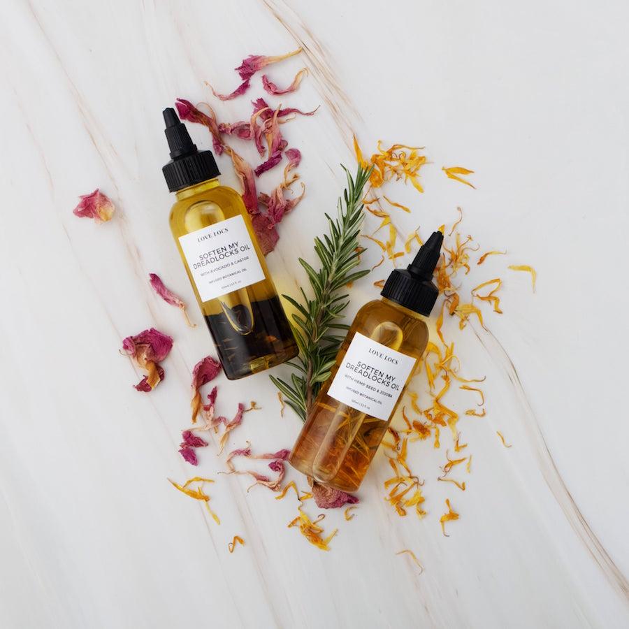 Love Locs Plant Infused Dreadlock oils