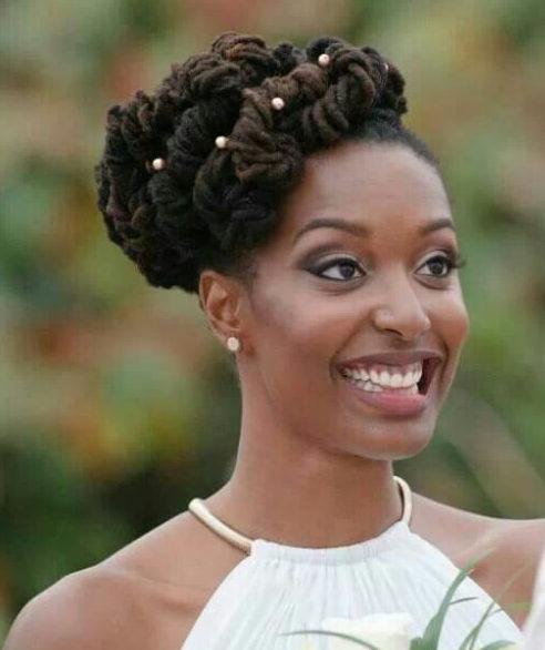 wedding elegant women dreadlocks styles