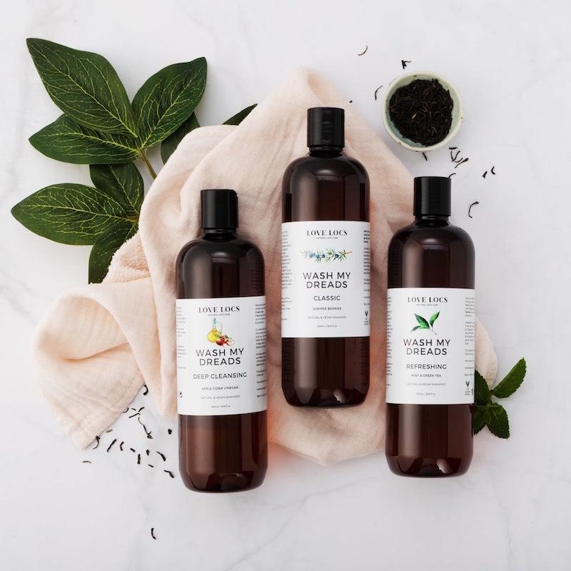 Love Locs Natural Dreadlock Shampoos