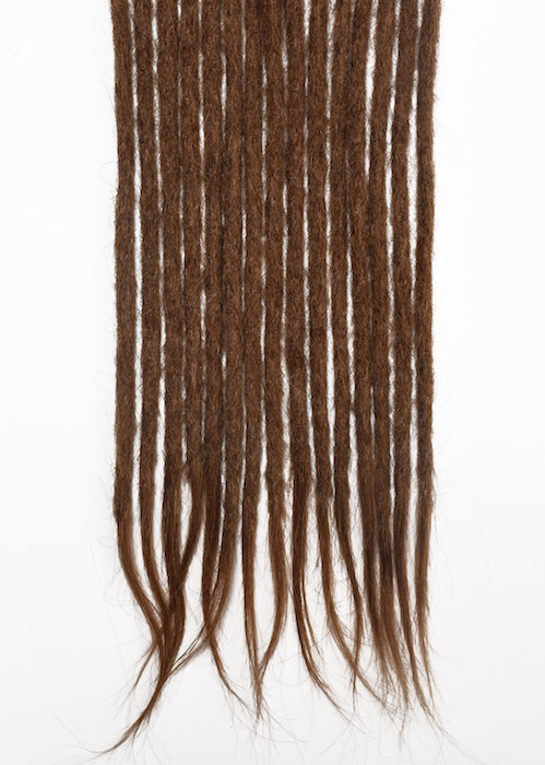 Light Brown #8 human hair dreadlocks extensions