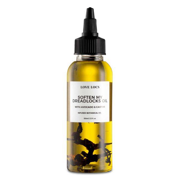 Love Locs Natural Softening dreadlock Oil avocado