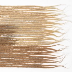 blonde human hair dreadlocks extensions