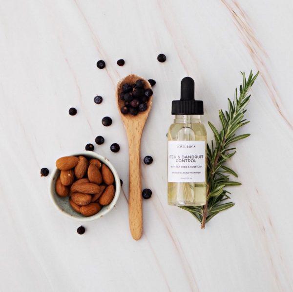 Love Locs Natural scalp treatment dandruff dry scalp