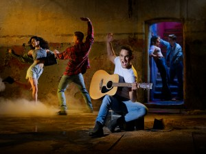 Footloose - Gareth Gates as Willard  Image Credit David Ellis