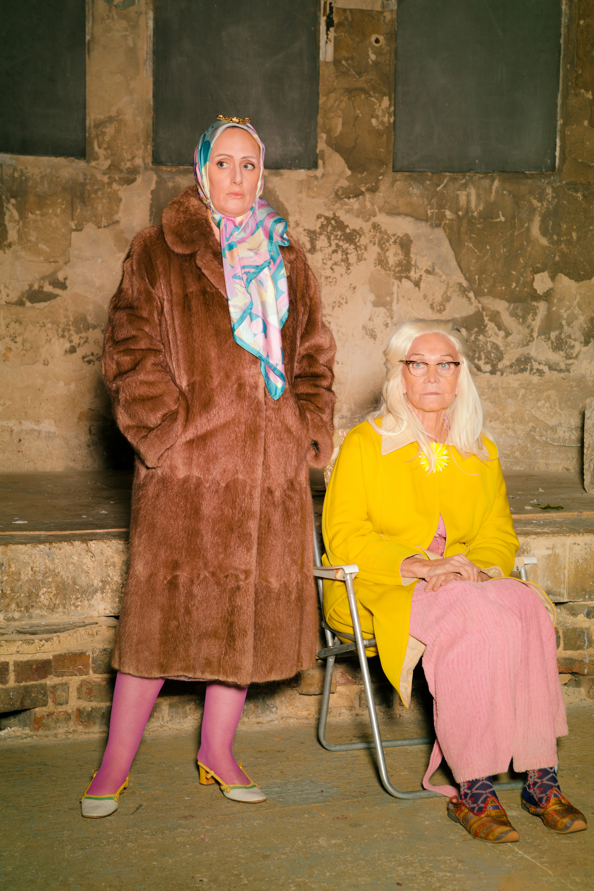 Grey Gardens3 Jenna Russell and Sheila Hancock Photo Scott Rylander.