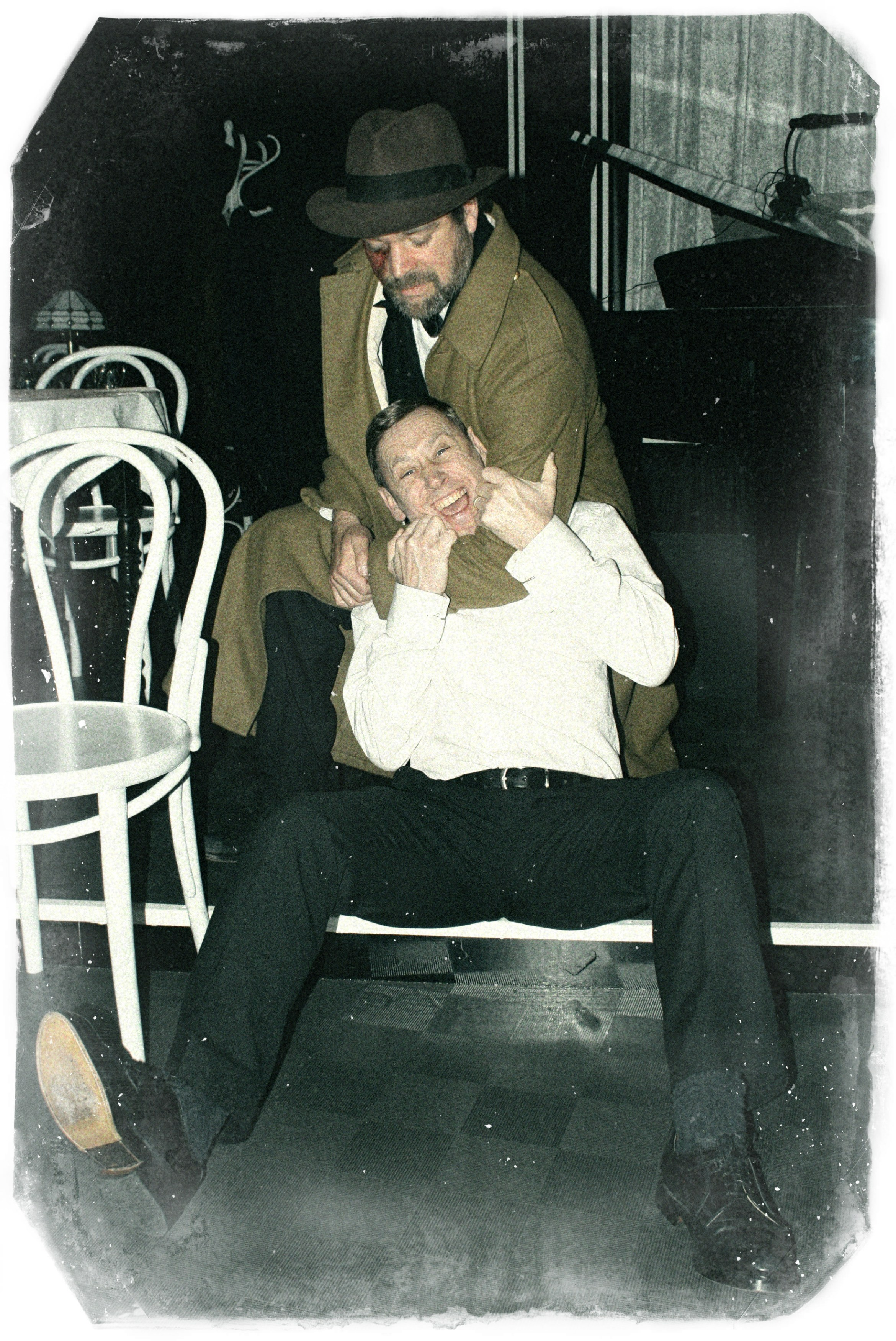 Jekyll & Hyde Hyde (Oliver Hume) and a victim (Stuart Horobin) Edit.jpg