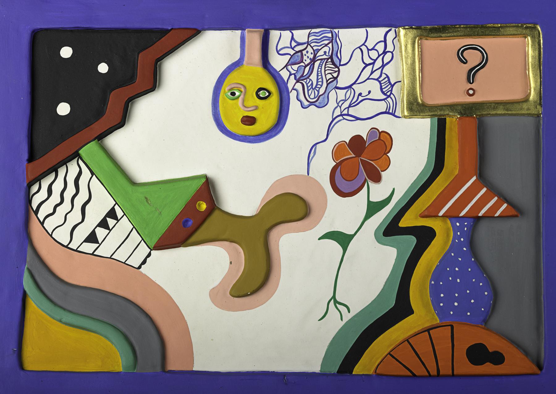 Niki de Saint Phalle - La question, 1984 (courtesy Omer Tiroche Contemporary Art).jpg