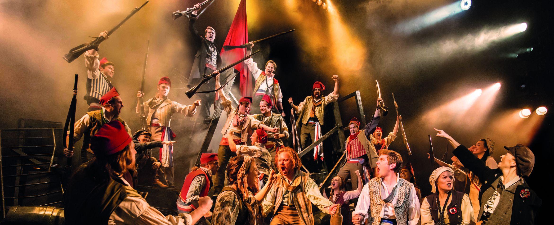 Les Misérables. The Barricade. Photo credit Johan Persson.jpg