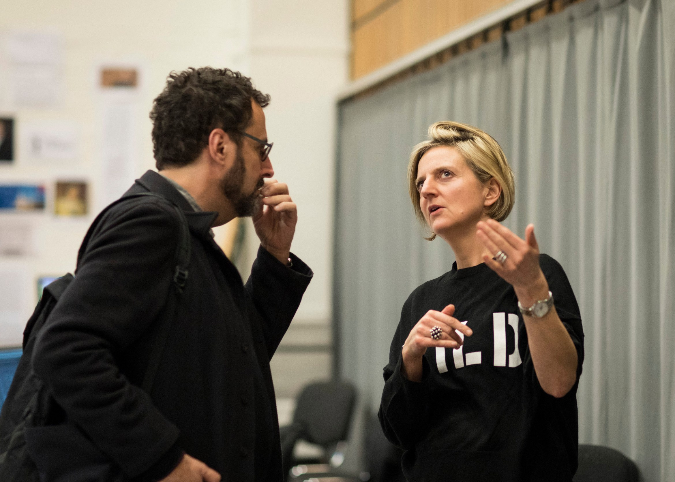 Angels in America rehearsals
