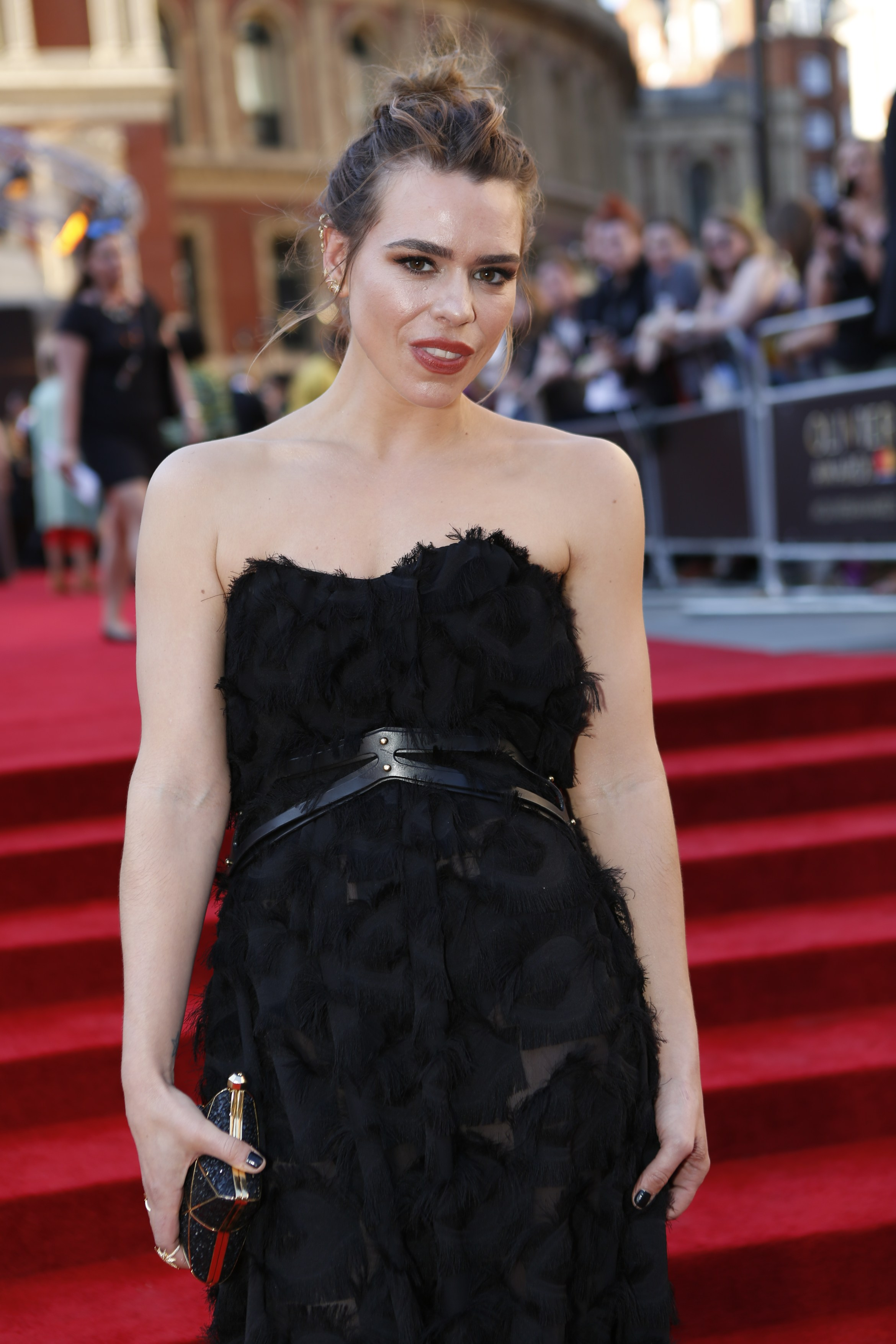 Billie Piper on the Olivier Awards 2017 with Mastercard red carpet. (Photo Pamela Raith)