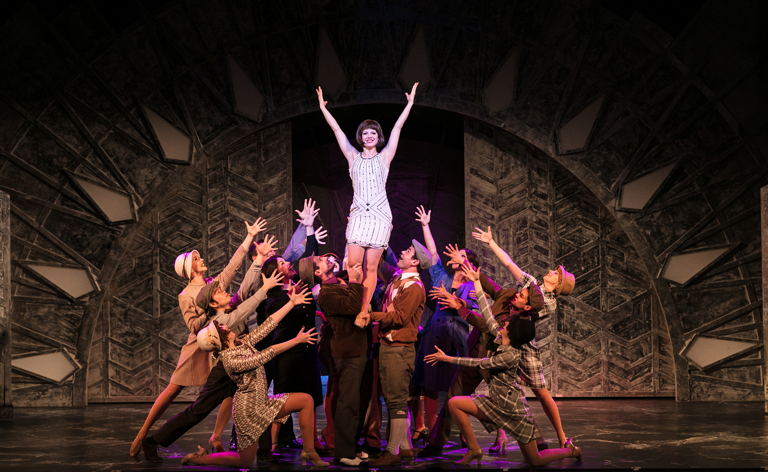 TMM Press 1 - Joanne Clifton as Millie and Company (c) Darren Bell