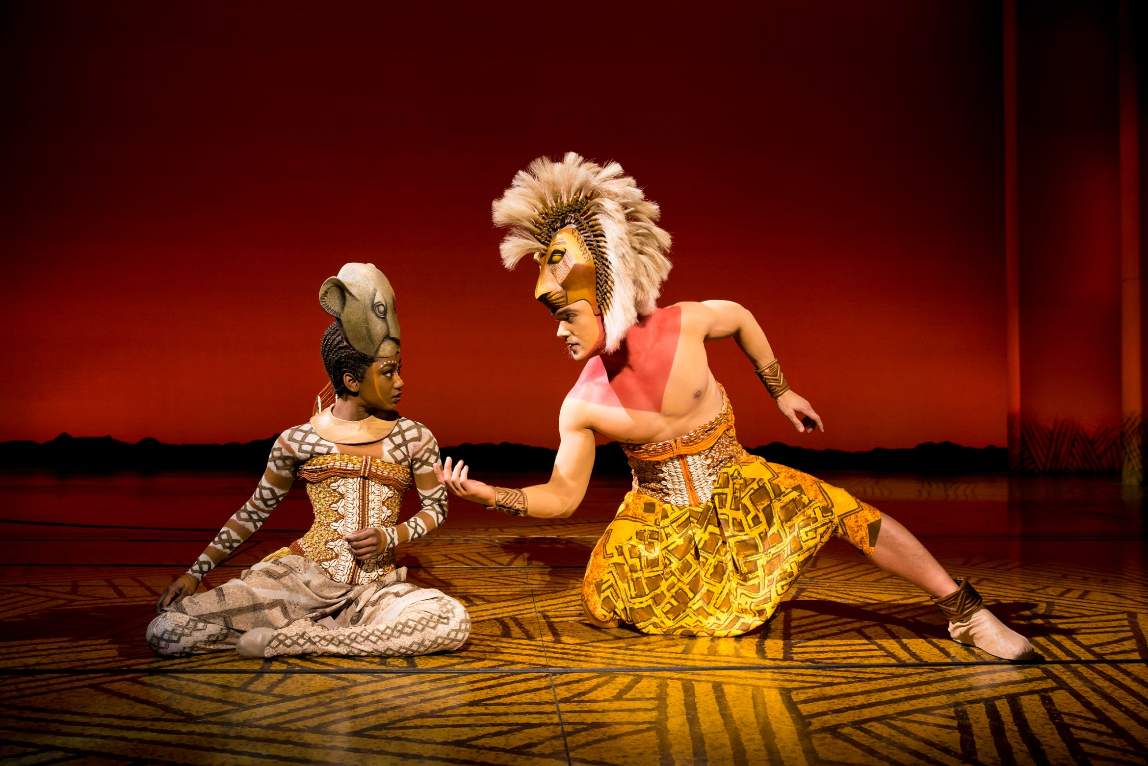 %27Can You You Feel The Love Tonight%27 - Nick Afoa as Simba%2c Janique Charles as Nala 2017 -�Disney.jpg