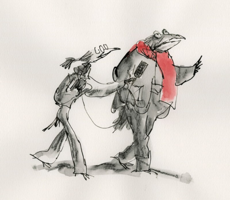 apercus-profonds-published-in-figaro-litteraire-2012-credit-quentin-blake