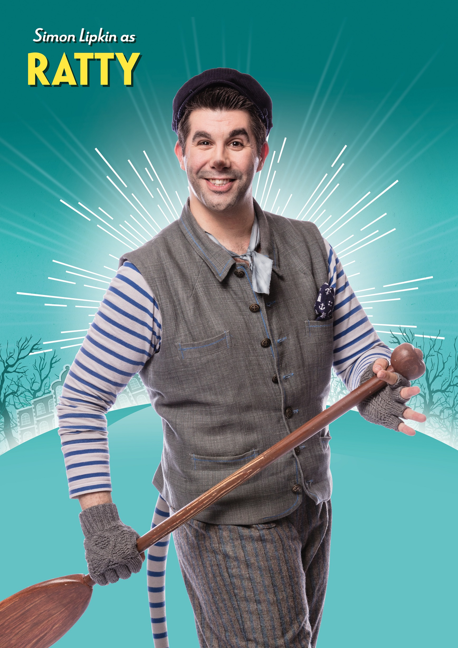 Simon Lipkin as Ratty in The Wind in the Willows Credit Darren Bell