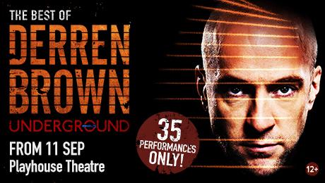 Derren Brown Underground-Playhouse poster
