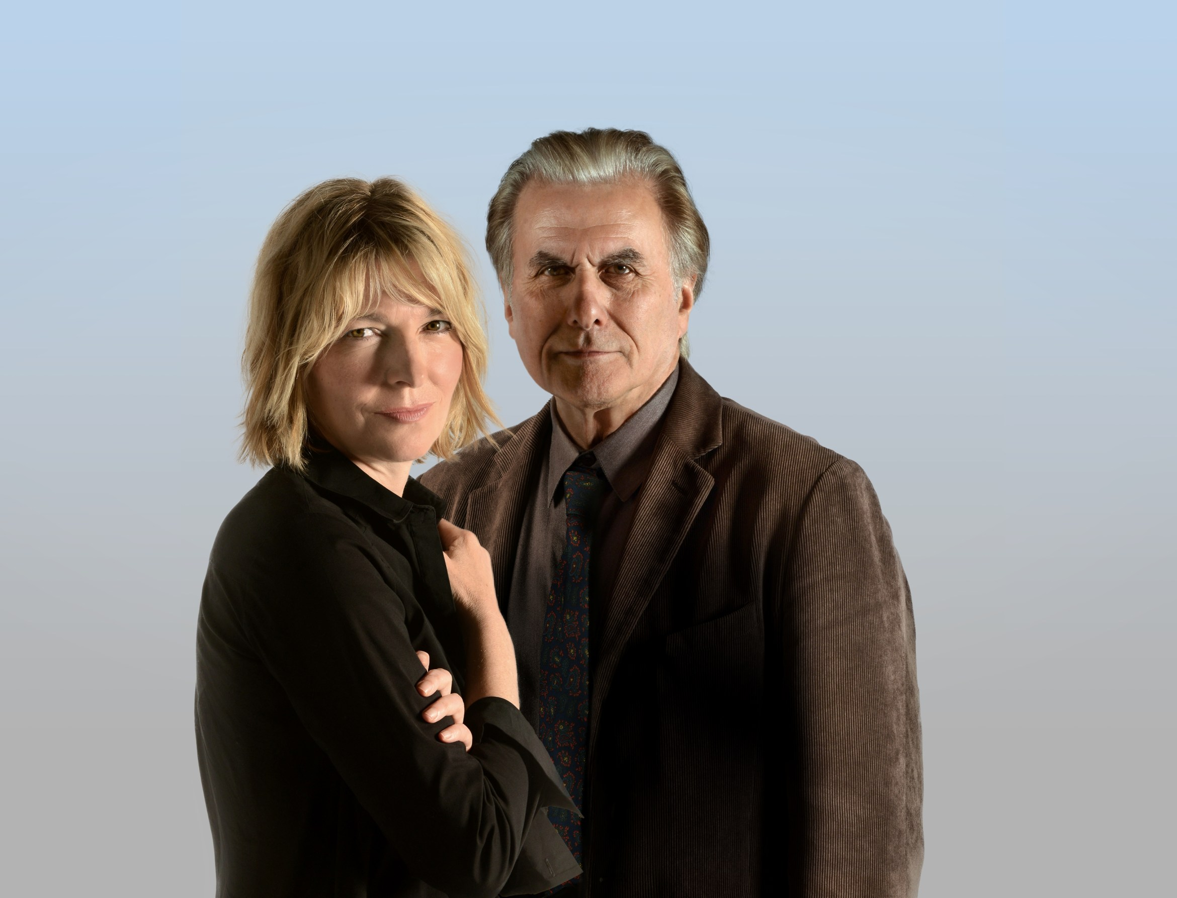 Jemma Redgrave & Oliver Cotton DUET FOR ONE credit Robert Day