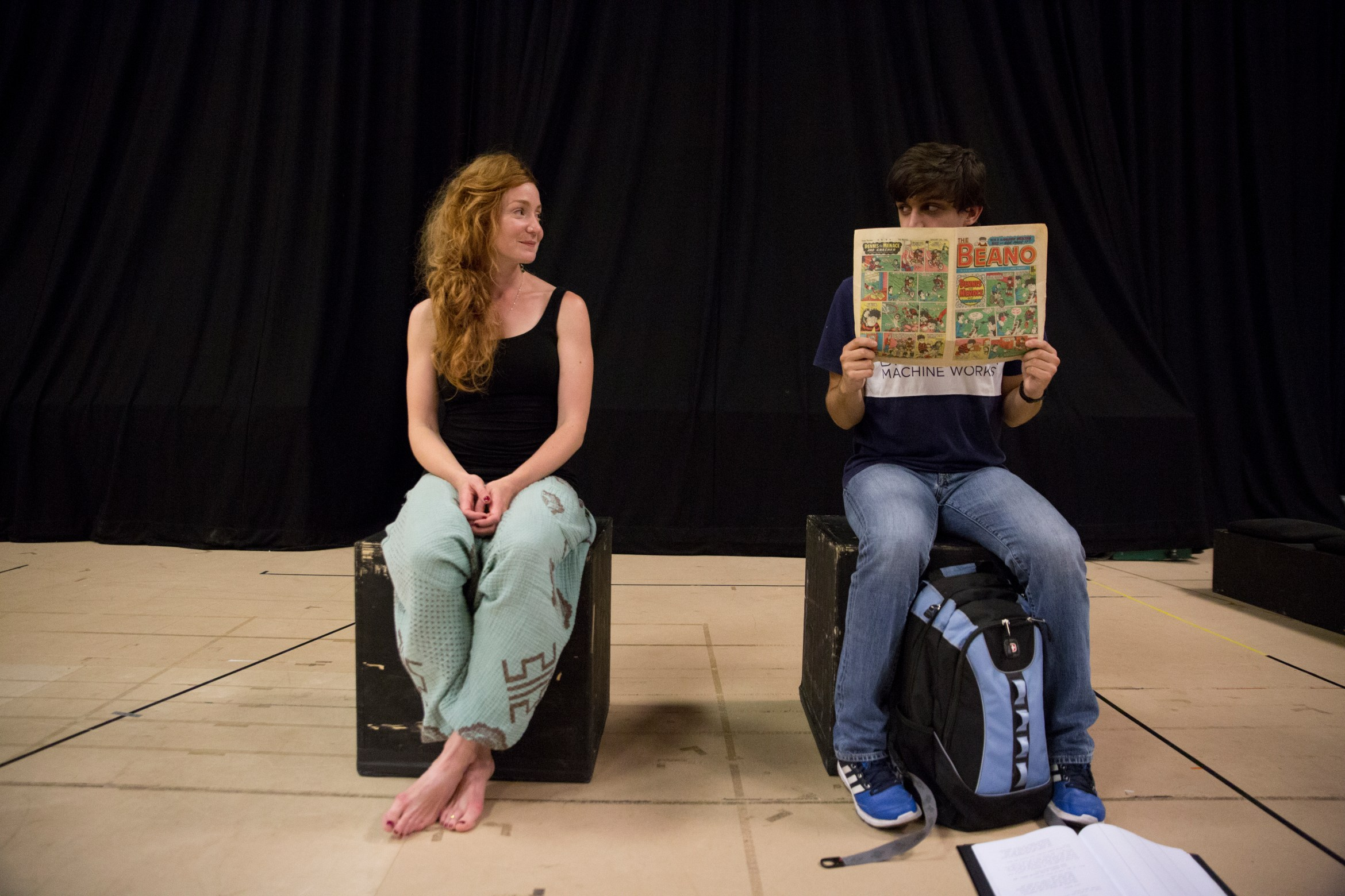 Phoebe Thomas and Joe Idris Roberts - Eyes Closed, Ears Covered - Bunker Theatre 2.jpg