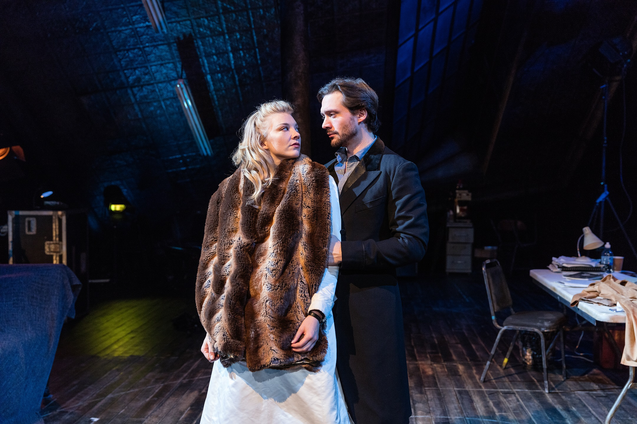 Natalie-Dormer-and-David-Oakes-in-Venus-in-Fur-at-Theatre-Royal-Haymarket.-Credit-Darren-Bell-3