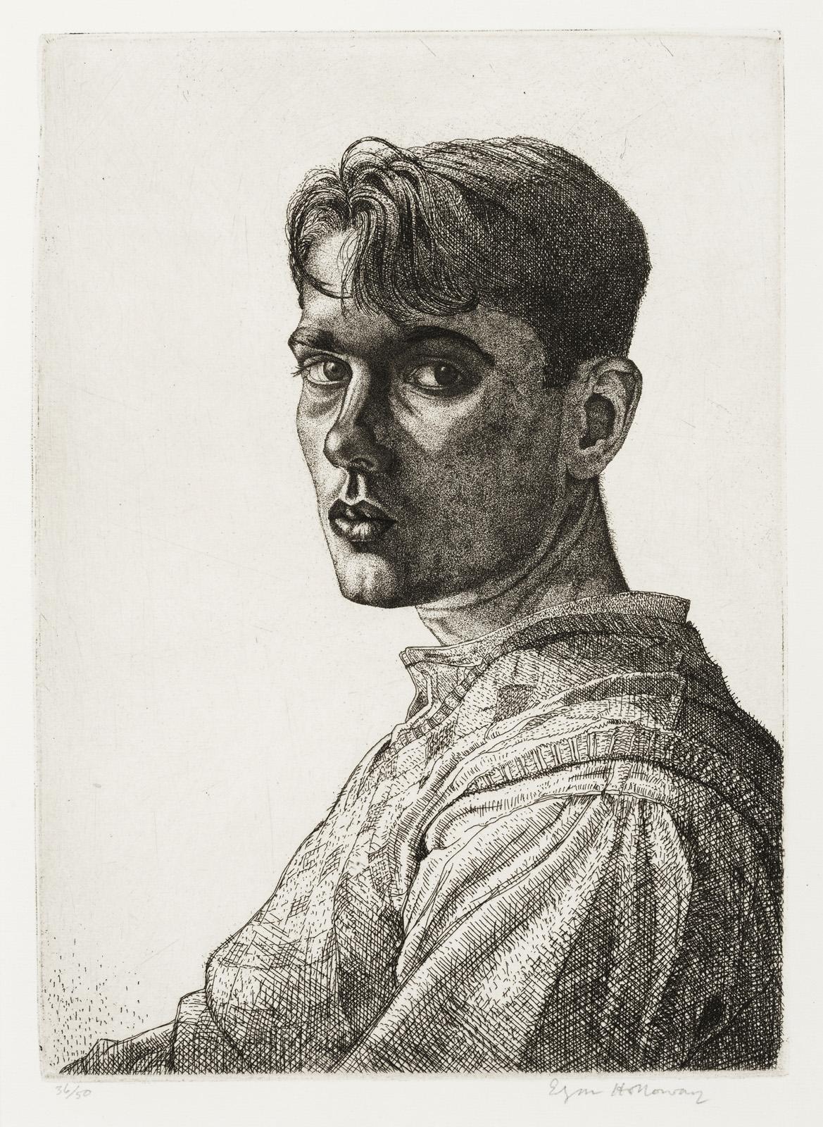 Edgar A. Holloway%2c Self-portrait no.6%2c 1932..jpg